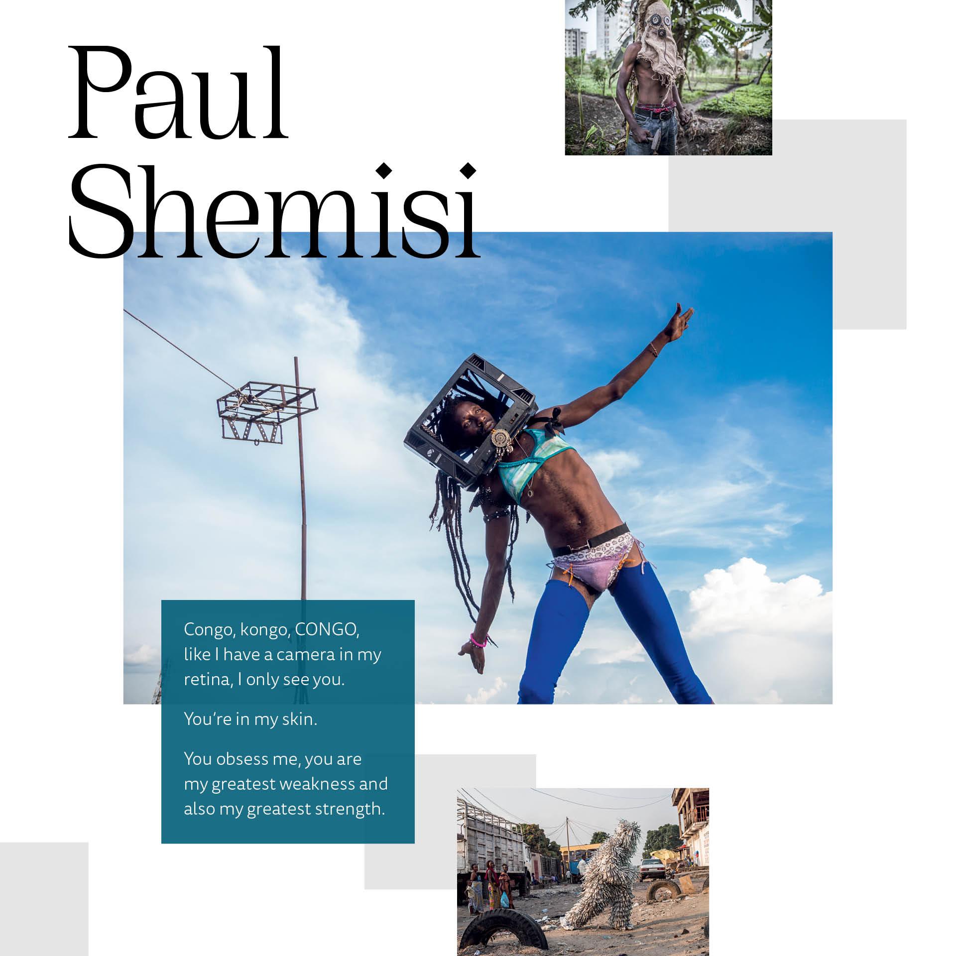 Beyond Artist Paul Shemisi